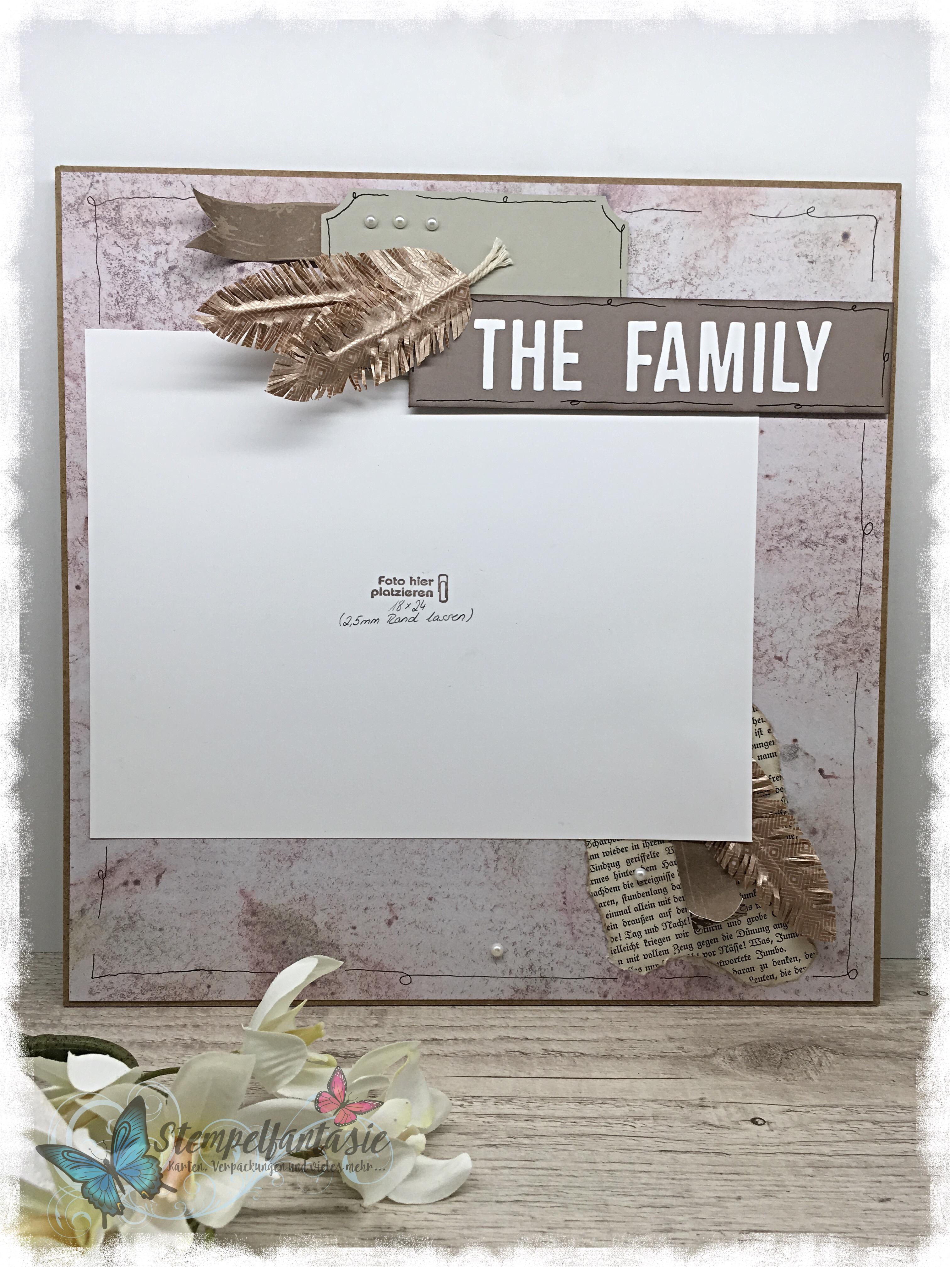 Scrapbooking Family